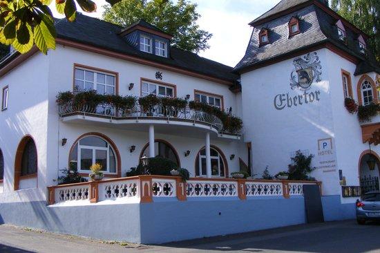 Hotel Ebertor: rijn aanzicht
