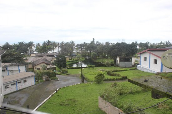 Hotel Seme Beach: the view from the suite