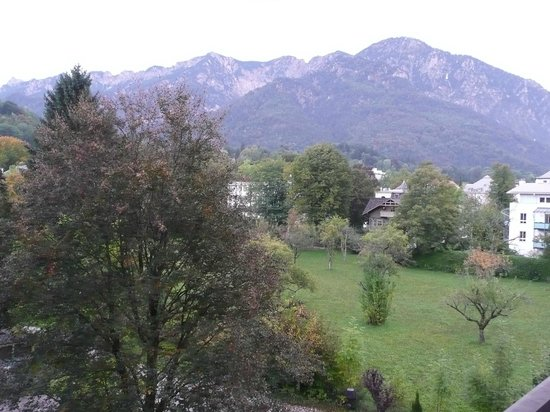 AMBER RESIDENZ Bavaria: Blick vom Balkon auf den Predigtstuhl