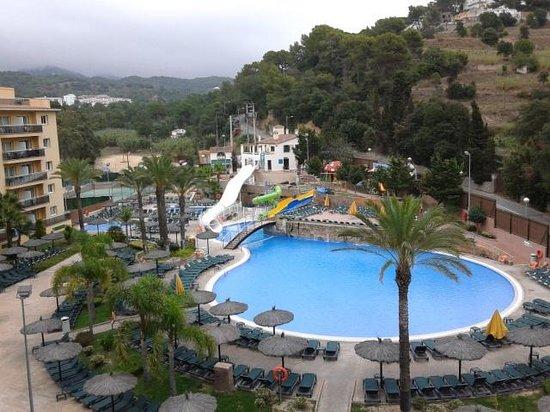 Rosamar Garden Resort: View from room 424