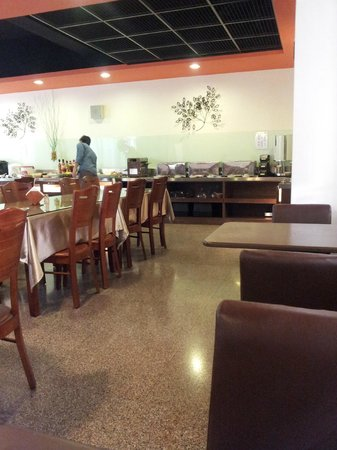 Cullinan Hotel: breakfast area