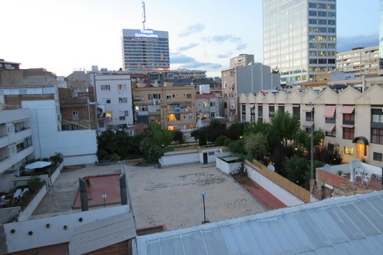 The Urban Suites: View from rooftop terrace