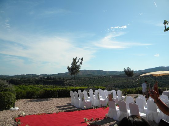 B bou Hotel Cortijo Bravo : the wedding venue