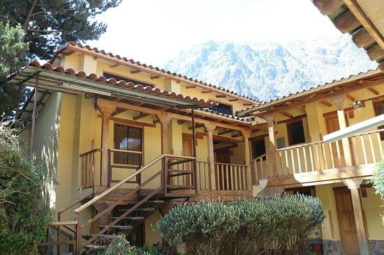 Hotel Samanapaq: Hostal Innenhof