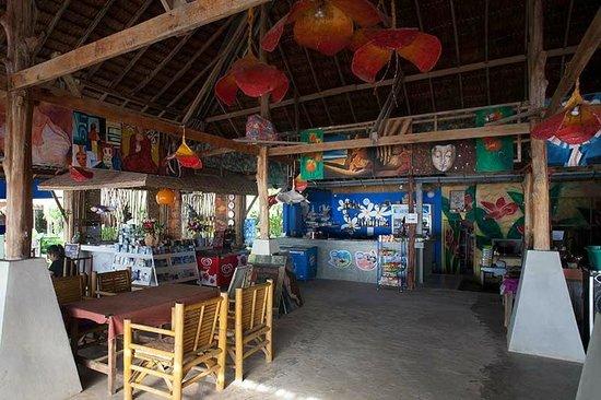 Cha-Ba Bungalows & Art Gallery : il ristorante