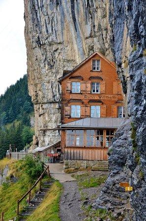 Aescher, Berggasthaus: Berggasthaus Aescher-Wildkirchli