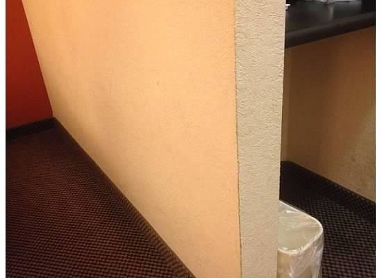 Sleep Inn , Inn & Suites: Dirty wall