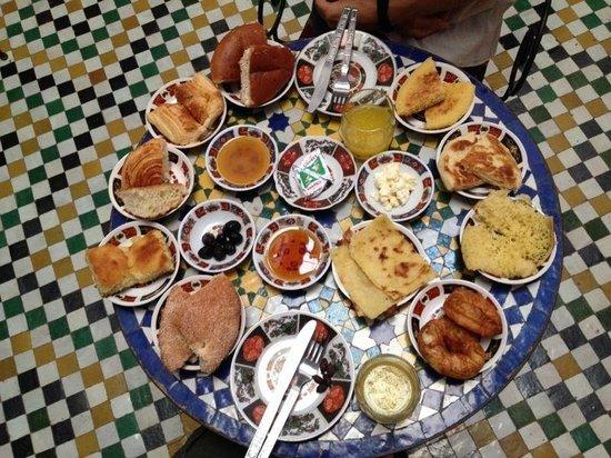 Dar Hafsa : Amazing breakfast