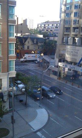 Park Hyatt Toronto: city view from room