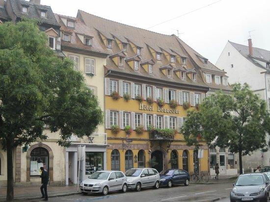 Hôtel Beaucour : Außenansicht