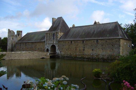 Château de Gratot : Entrata