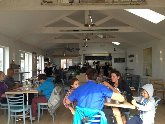 Interior of Billy's on the Beach