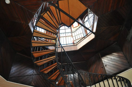 Wentworth Mansion : stairway to cupola/roof
