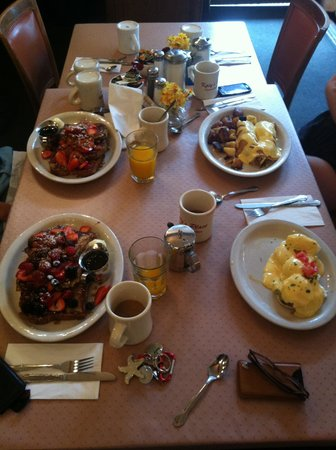 Katy's Place: Our families breakfast