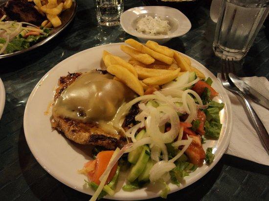 G'Day Great Aussie BBQ: chicken tazmanian.