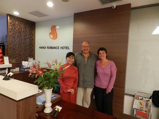 Hanoi Romance Hotel: staff