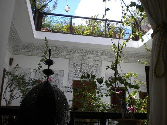 Riad Les Nuits de Marrakech : View from 1st Floor