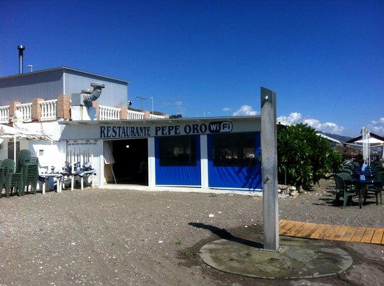 Pepe Oro Bar Restaurant - exterior