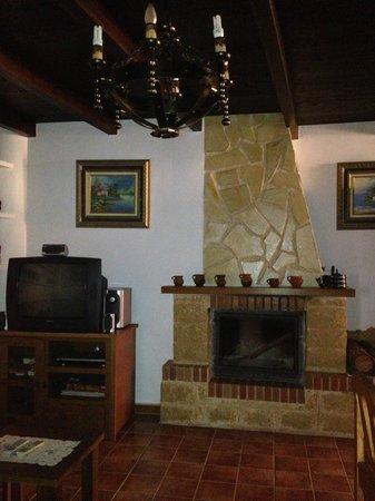 Casa Rural Rincon de Sandra: Chimenea