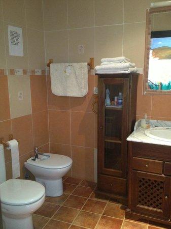 Casa Rural Rincon de Sandra: Baño