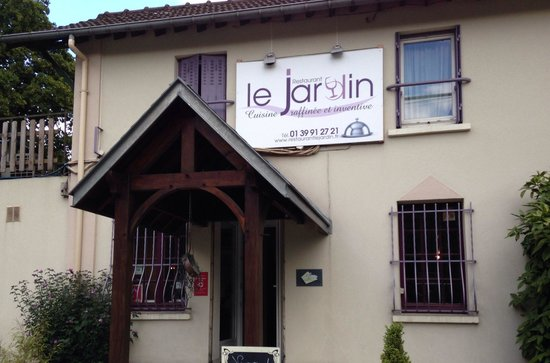 Entr e du restaurant picture of restaurant le jardin for Restaurant le jardin a domont