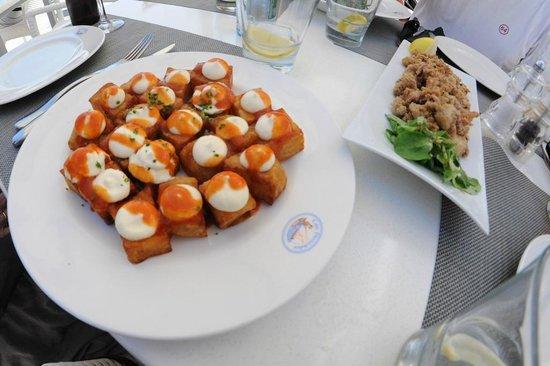 Can Pescador: Une version sympa des patatas bravas !