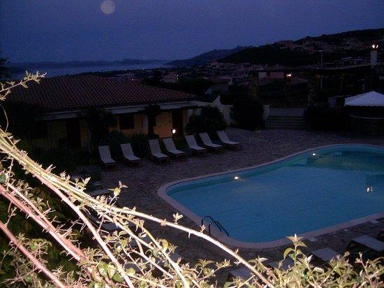 Hotel Palau: vista di sera