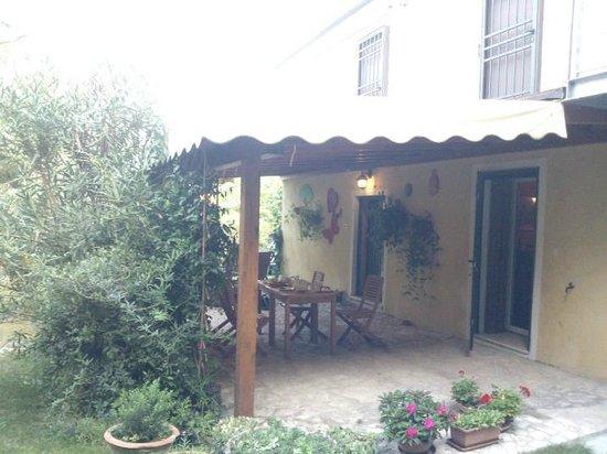 La Valle dell'Oca: La veranda per la colazione