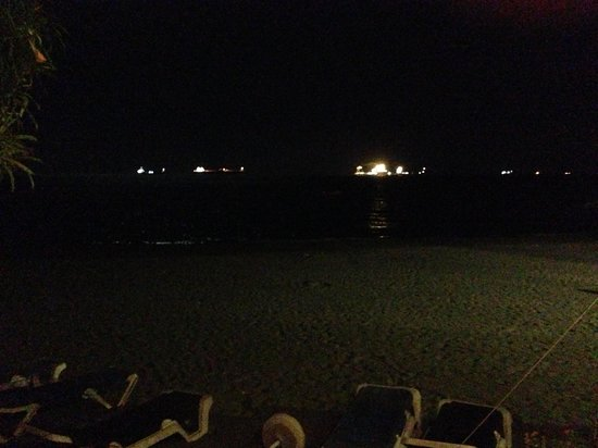 NOA restaurant & bar: the ocean from the table at this restaurant