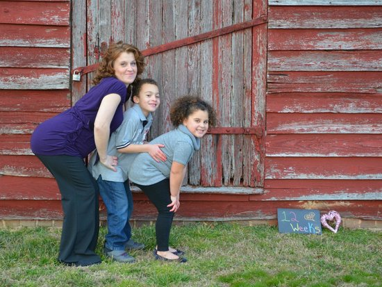 Windsor Castle Park: Family Maternity Photos of my Niece and her kids that I took