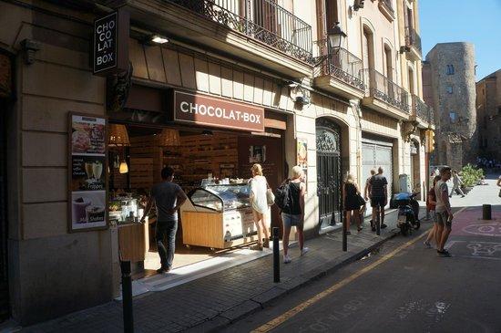 Hotel Barcelona Catedral: Очень вкусная кондитерская рядом