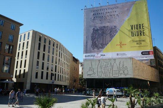 Hotel Barcelona Catedral: 30 секунд до отеля