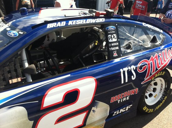 Watkins Glen International: Teenage girls favorite driver Brad K
