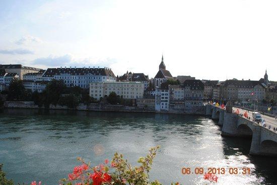 Hotel Merian am Rhein : Prachtig uitzicht