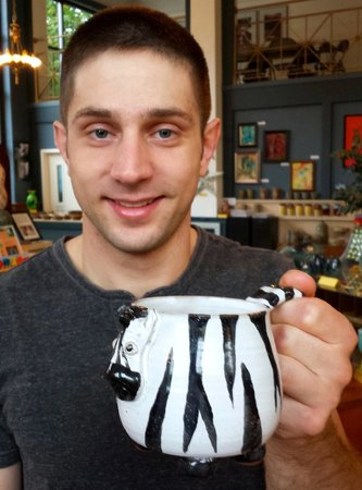 Fiddlehead at Four Corners: Animal-themed mugs!