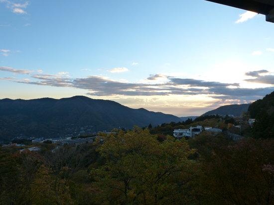 Gosaikan: 部屋からの景色 2011 秋