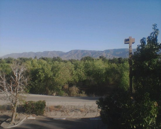 Quality Inn San Bernardino: view from room...3rd floor