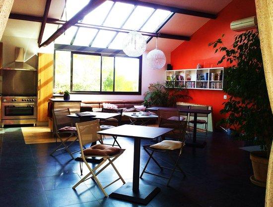 Eguilles, France: coin ptit dej