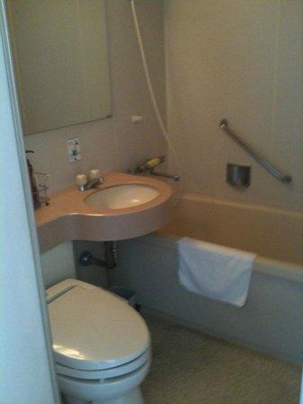 Kumamoto Kotsu Center Hotel: Bathroom