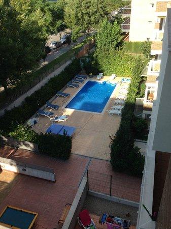 Salou Mediterraneo Apartments: View from balcony