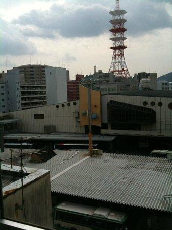 Kumamoto Kotsu Center Hotel: view from the room