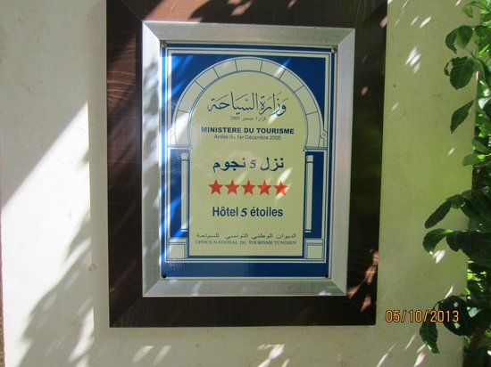El Mouradi Mahdia : 5 Sterne zuviel