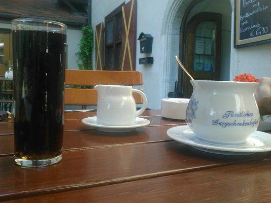 Harburg Castle: Un caffè speciale per il mio tesorino