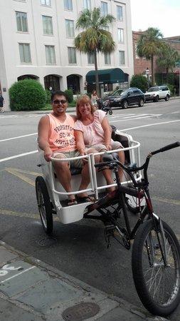 Charleston Rickshaw Company: Great ride