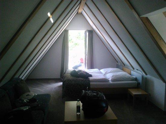 La nostra camera al Dom Hotel