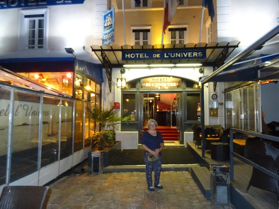 Hotel l'Univers : Absoulutely  Saint-Malo