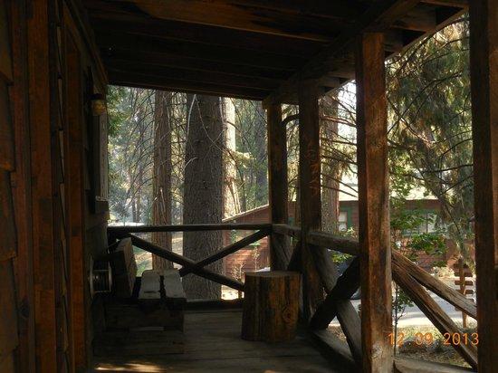 Evergreen Lodge at Yosemite: Terrasse