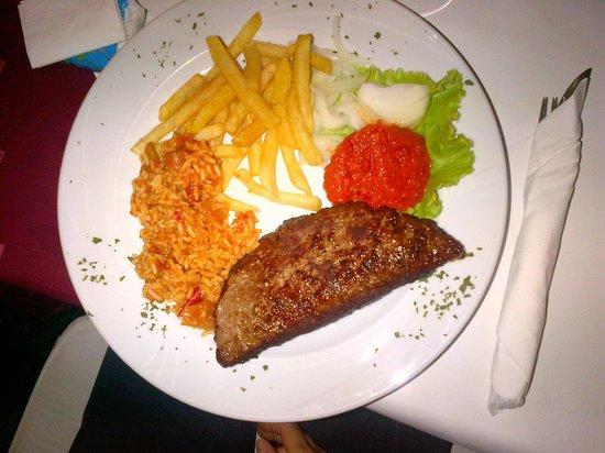 La Rosa: minced meat