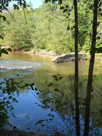 Little River Trail: Dam remains and water raceway