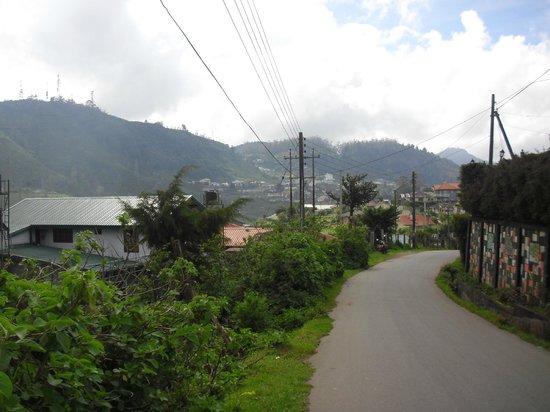 Binota Hotel: hotel road